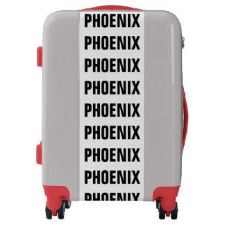 PHOENIX, Typo black Luggage