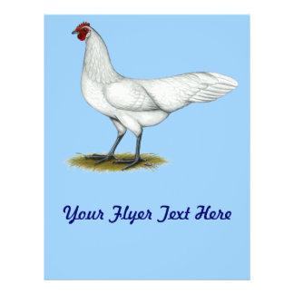Phoenix White Hen Personalized Flyer