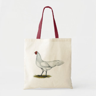 Phoenix:  White Hen Tote Bag