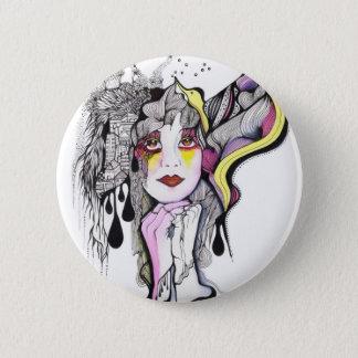 Phoenix Woman Pinback Button