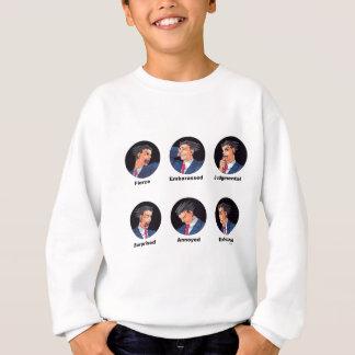Phoenix Wright Emoticons Sweatshirt