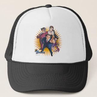 Phoenix Wright Key Art Trucker Hat