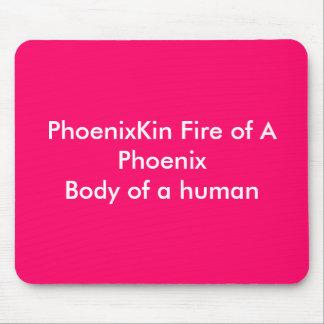 PhoenixKin Fire of A PhoenixBody of a human Mousepads