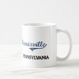Phoenixville Pennsylvania City Classic Classic White Coffee Mug