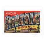 Phoeniz, Arizona - Large Letter Scenes Postcard