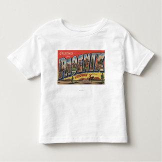 Phoeniz, Arizona - Large Letter Scenes Shirt