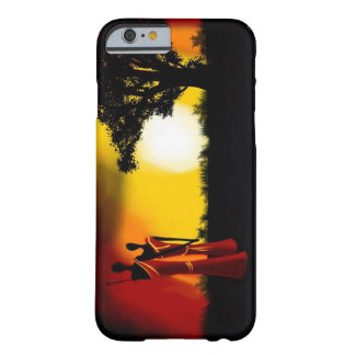 Phon Puts African Art - by Wan Barely There iPhone 6 Case