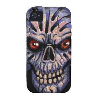 phone 4 tough - Immortal Skull iPhone 4 Case