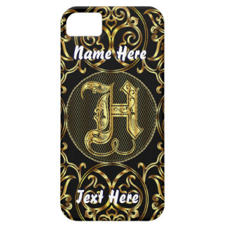 Phone 5 Monogram H View Hints Please iPhone SE/5/5s Case