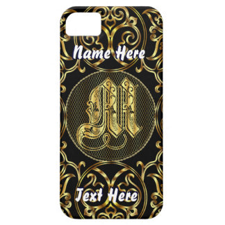 Phone 5 Monogram M View Hints Please iPhone SE/5/5s Case