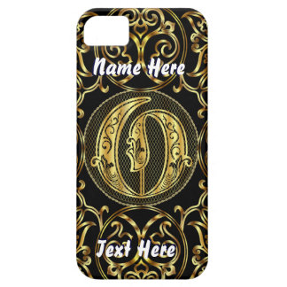 Phone 5 Monogram O View Hints Please iPhone 5 Cases