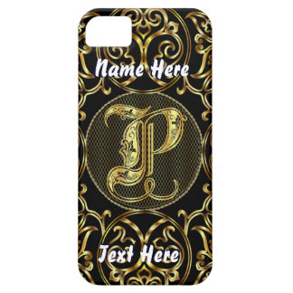Phone 5 Monogram P View Hints Please iPhone 5 Cover