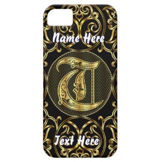 Phone 5 Monogram T View Hints Please iPhone SE/5/5s Case