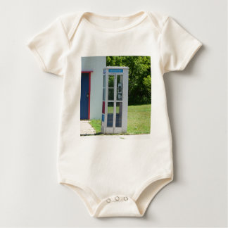 Phone Booth Baby Bodysuit