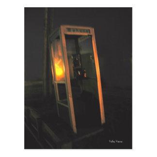 Phone Booth Bar Postcard
