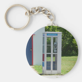 Phone Booth Keychain