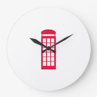 phone booth large clock