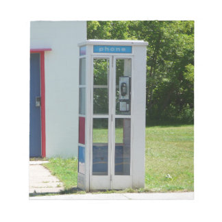 Phone Booth Notepad