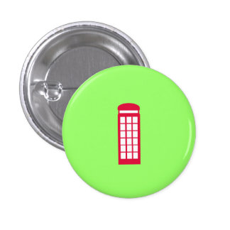 phone booth pinback button