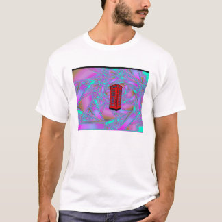 Phone booth spiral T-Shirt