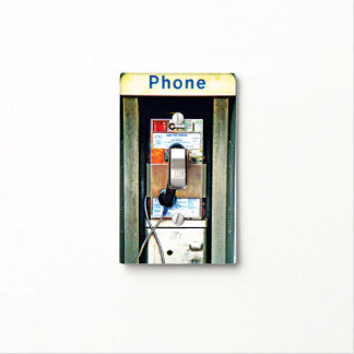 Phone box light switch cover