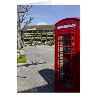 Phone Box London Card
