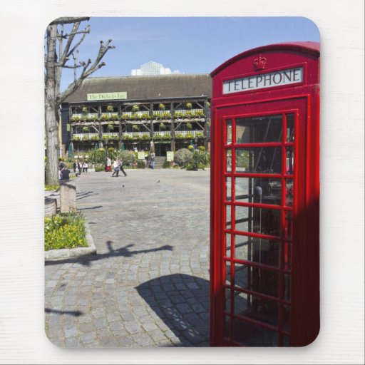 Phone Box London Mouse Mats
