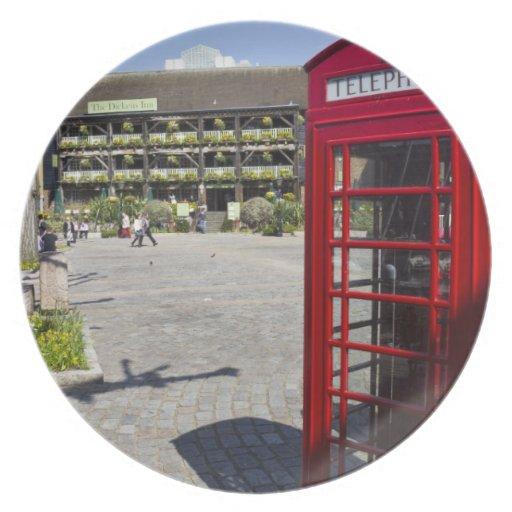 Phone Box London Plate