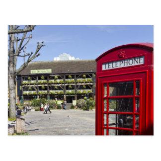Phone Box London Postcard