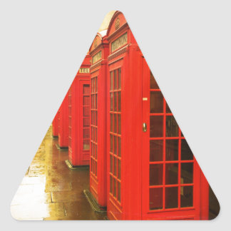 Phone boxes triangle sticker