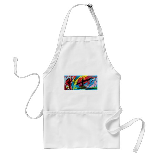 Phone case adult apron