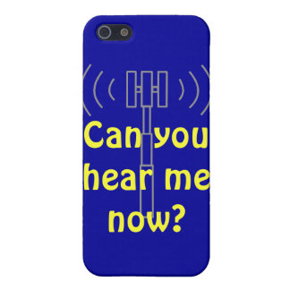 Phone case - Can you hear me now?
