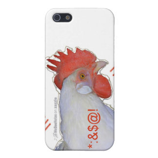 Phone Case, Chickens Who Text Case For iPhone SE/5/5s