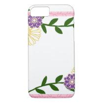 Phone Case Flower Design