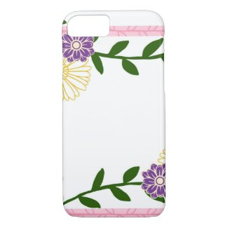 Phone Case Flower Design