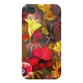 Phone Case from the artwork of Ellen Brenneman Case For iPhone 4
