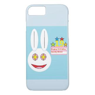 Phone Case Happy Birthday Bunny Rinni