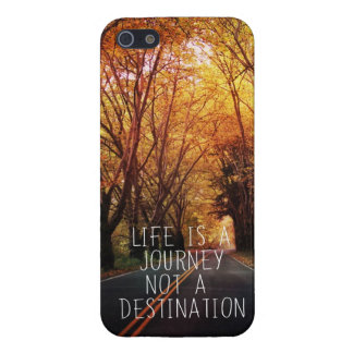 phone case iphone5 Life is a journey Covers For iPhone 5
