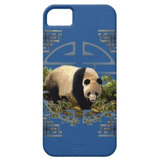 Phone case, panda with Oriental symbol iPhone SE/5/5s Case