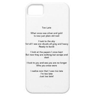 Phone Case Poem