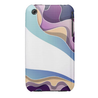 Phone case with abstract design