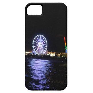 Phone Case with Beach Scene Night Scene iPhone 5 Covers