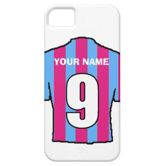 Phone Case with Club Colours! Claret & Blue Shirt