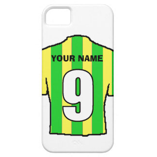 Phone Case with Club Colours! Green & Yellow Shirt