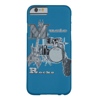 Phone case with music instruments