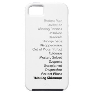 Phone case with text-light colors