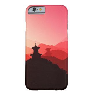 Phone case wonderful purple oriental sunset