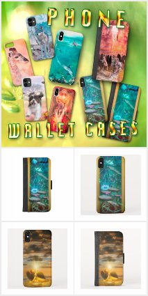 PHONE CASES and PHONE WALLET CASES