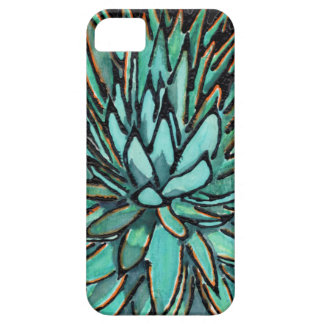 Phone Cases - Spiky Green Agaves