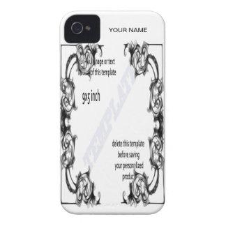 phone cases template A iPhone 4 Case-Mate Case